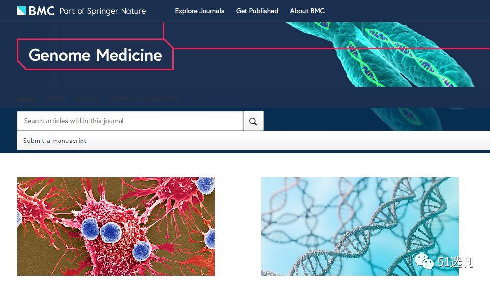 Genome Medicine,5年时间,从IF>5分,将有望进入10分+-sci666