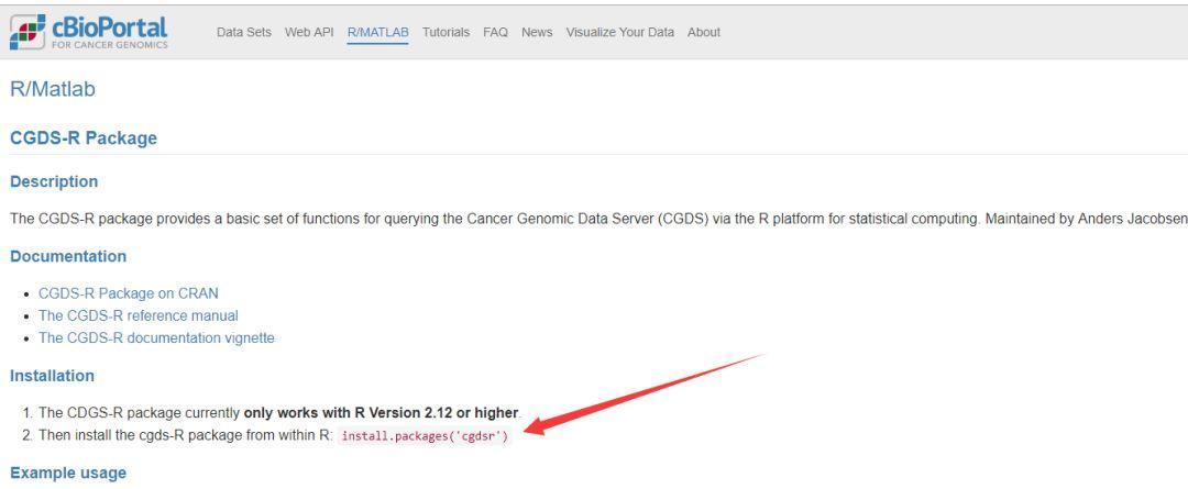 手把手教你用R下载TCGA数据:CGDSR包-sci666