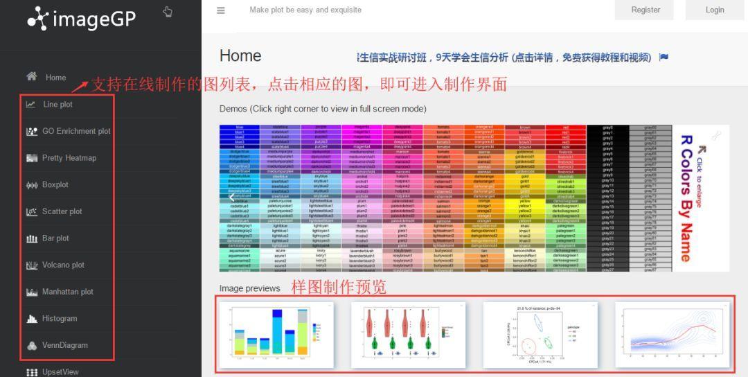数据可视化的在线、本地简易制作——ImageGP和EasyCharts-sci666
