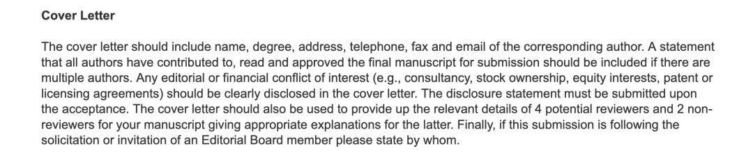 SCI 投稿必备,教你写 Cover Letter ( 附完整模板 )-sci666