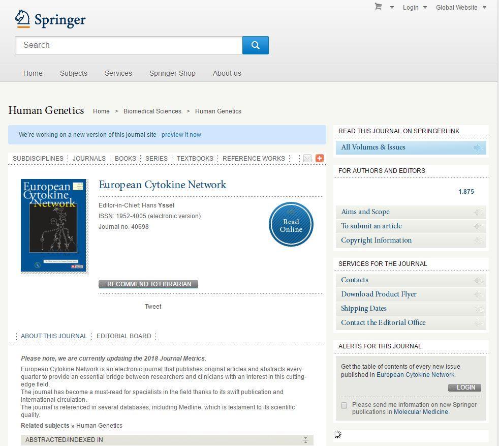 推荐几本适合新手投的非水刊免疫学sci杂志-sci666