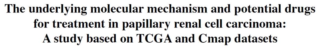 文献解读:TCGA结合Cmap datasets,生信结合免疫组化的科研套路-sci666