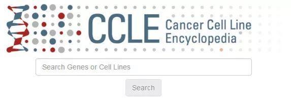CCLE(Cancer Cell Line Encyclopedia)查询某个基因蛋白在某个细胞系的表达情况