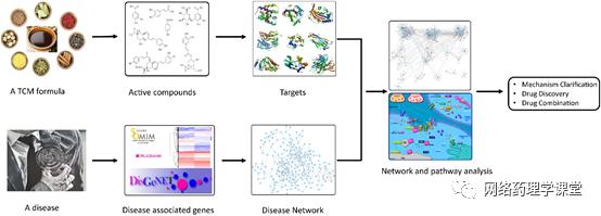 中药网络药理学研究的数据库、在线平台与软件工具总结