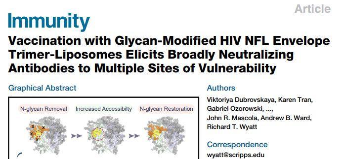 Immunity:实验性HIV疫苗已达到一个重要的里程碑-sci666
