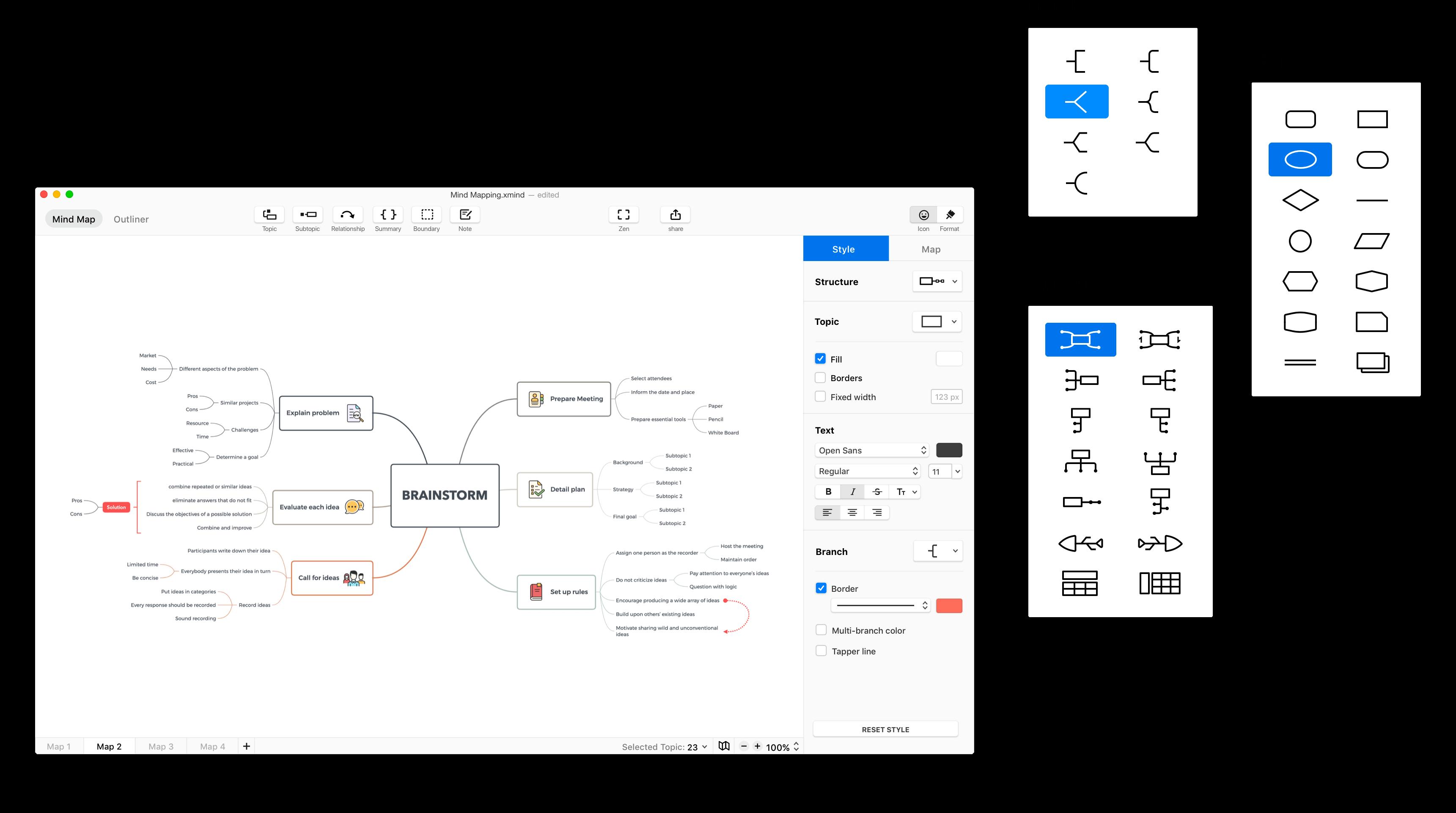 苹果思维导图XMind ZEN for Mac中文破解版-sci666