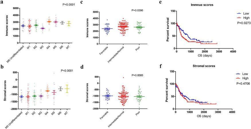 文献解读:急性粒细胞白血病纯生信分析高分文章研究思路-sci666