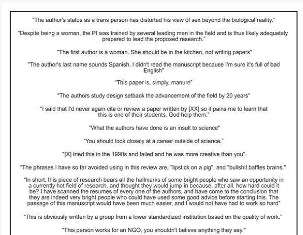 论文同行评审中的奇葩审稿人意见-sci666