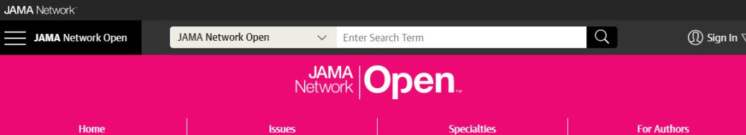 JAMA Network Open影响因子预测超过5分