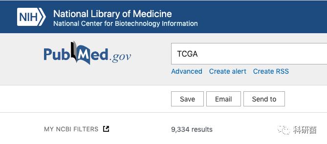 利用TCGA数据库发表的文章都是哪些杂志?