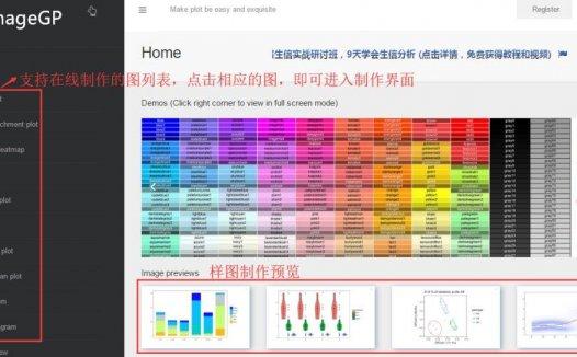 数据可视化的在线、本地简易制作——ImageGP和EasyCharts