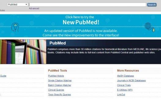 新版PubMed介绍