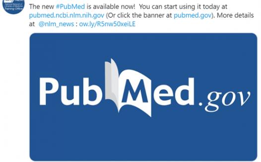 新版Pubmed介绍 附与旧版的区别