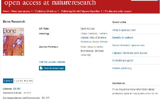 Bone Research被踢出了JCR,但仍是SCI的期刊