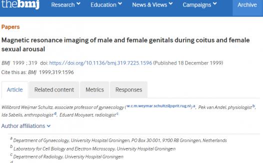 BMJ最火论文:性行为时生殖器会变成什么样子