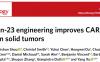 IL23促进CAR-T细胞在实体瘤中的抗癌功能