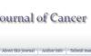 Journal of Cancer影响因子3分 国人友好 审稿速度快