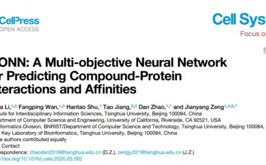 曾坚阳团队开发蛋白-小分子相互作用预测的深度学习模型