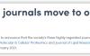 Journal of Biological Chemistry即将收费 改为OA期刊