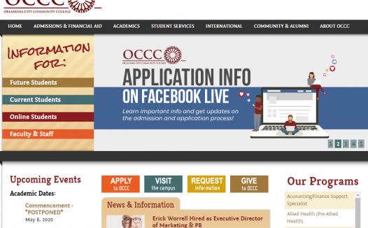 美国俄克拉何马城社区学院学生邮箱申请方法