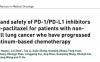 ICIs+nab-紫杉醇对铂类化疗后进展的非小细胞肺癌的疗效和安全性