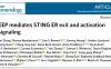张宝存等鉴定STING从内质网释放并激活的新型调节因子