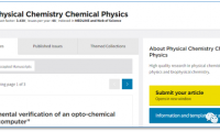 PHYS CHEM CHEM PHYS投稿文章图片要求 彩图的在线及印刷版均为免费