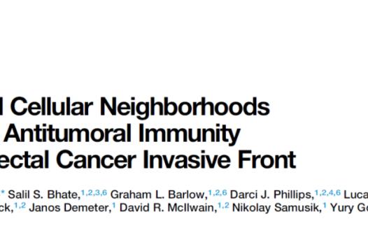 空间生物学揭示肿瘤微环境组织分布特征与肿瘤免疫反应的关系  