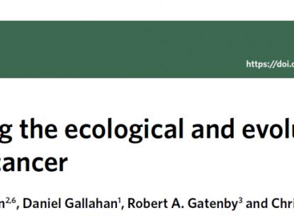 肿瘤生态与进化动力学模式——掌控肿瘤治疗的时机性