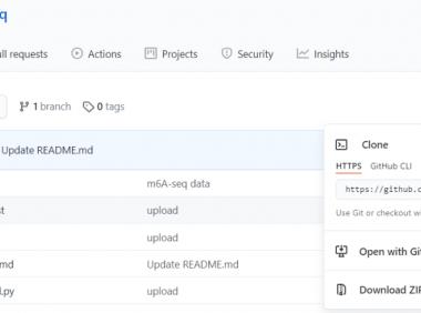 DeepM6ASeq的安装及使用方法