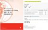Journal of International Medical Research(JIMR)影响因子是1.2分 版面费4500美金