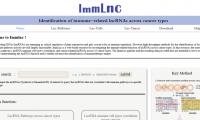 ImmLnc:癌症lncRNA研究在线研究网站