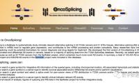OncoSplicing:基于两种不同算法的可变剪切数据库