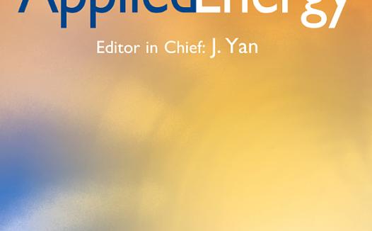 Applied Energy影响因子10分 中科院一区Top期刊 审稿快速 无需版面费